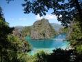 Uitzicht bij het Kayangan Lake.